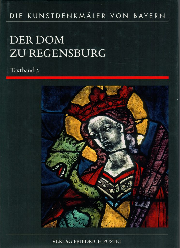 Regensburg, Dom. Titelbild Band 2 Achim Hubel
