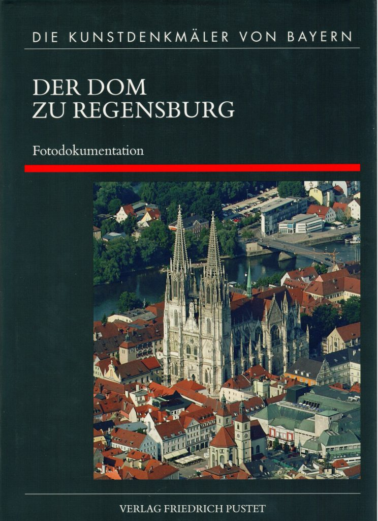 Regensburg, Dom. Titelbild Band 4 Achim Hubel