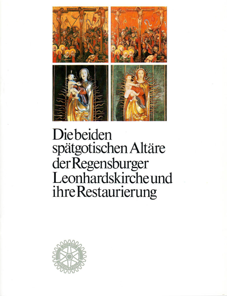 Altäre der Leonhardskirche 1979