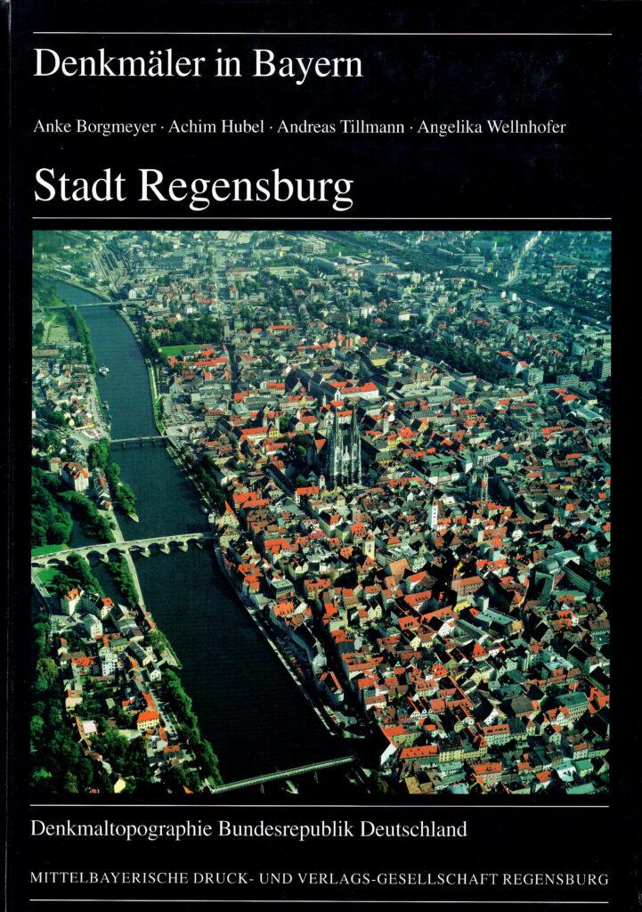 Denkmaltopographie Regensburg 1997 Achim Hubel